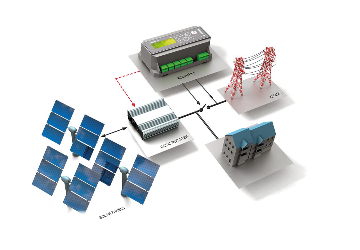 Mains Protection for a Solar farm
