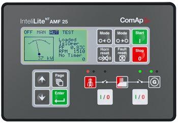 Comap Intelilite Nt Amf 25 Auto Mains Failure Amf Gen Set Controller